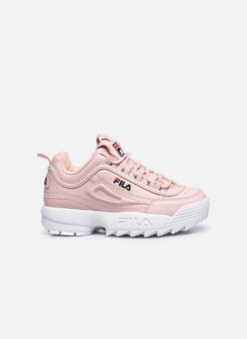 Sneaker FILA Disruptor Kids rosa ansicht von hinten
