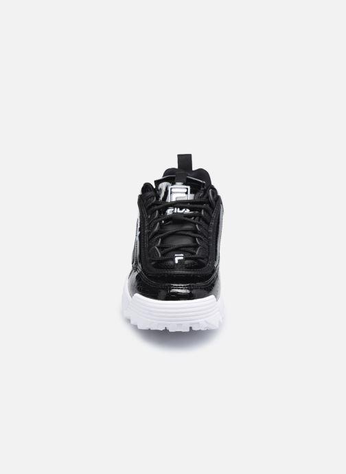 Sneaker FILA Disruptor Kids schwarz schuhe getragen