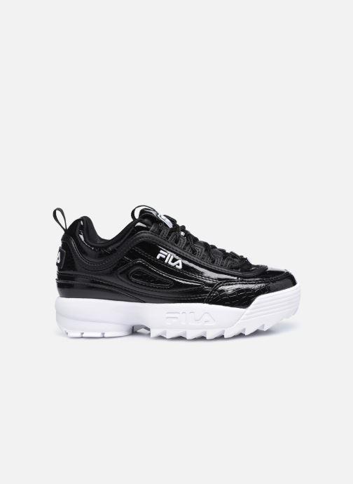 Sneaker FILA Disruptor Kids schwarz ansicht von hinten