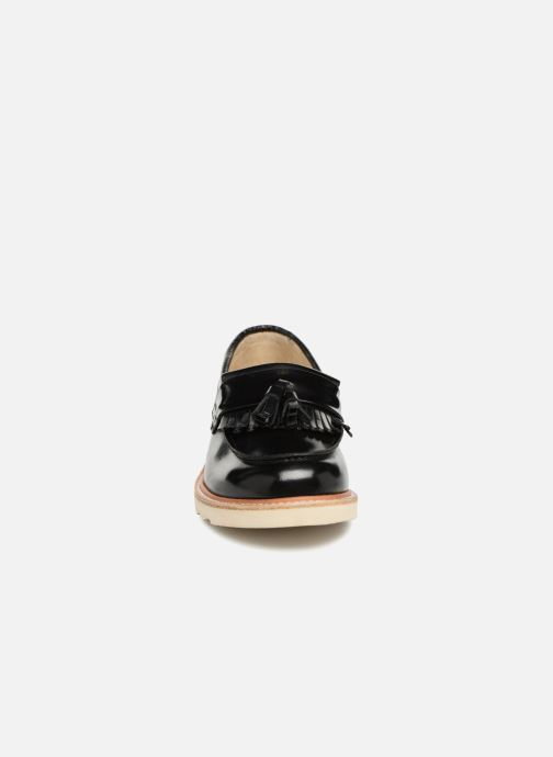 Mocassins Young Soles Billy Noir vue portées chaussures