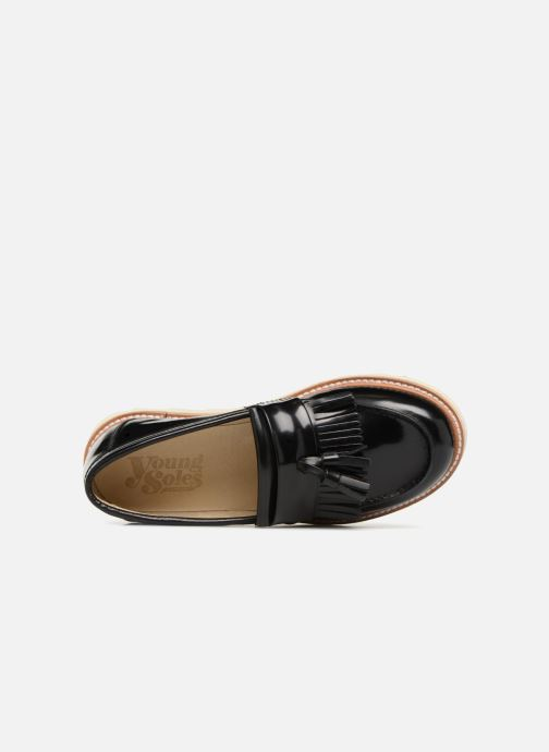 Loafers Young Soles Billy Black view from the left