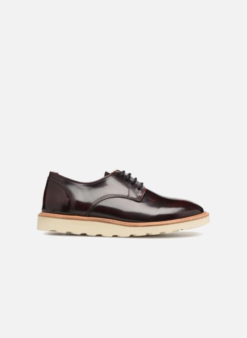 Chaussures à lacets Young Soles Reggie Bordeaux vue derrière