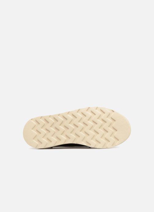 Chaussures à lacets Young Soles Reggie Bordeaux vue haut