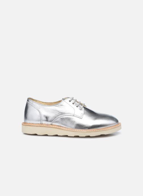 Zapatos con cordones Young Soles Reggie Plateado vistra trasera