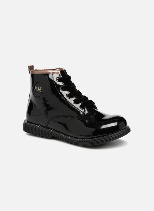 Bottines et boots Mod8 Polly Noir vue détail/paire
