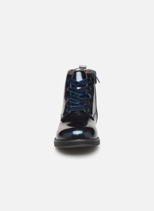 Bottines et boots Mod8 Polly Bleu vue portées chaussures