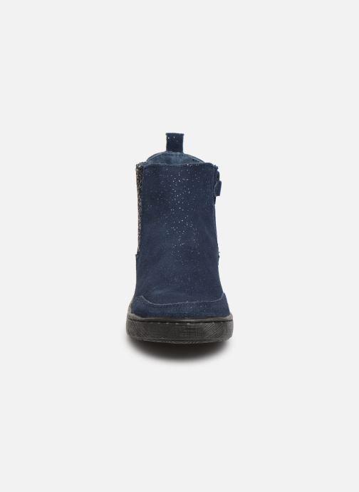 Bottines et boots Mod8 Blabis Bleu vue portées chaussures