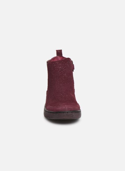 Bottines et boots Mod8 Blabis Bordeaux vue portées chaussures