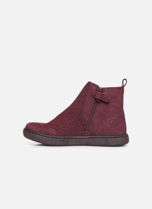 Bottines et boots Mod8 Blabis Bordeaux vue face