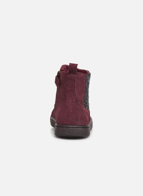 Bottines et boots Mod8 Blabis Bordeaux vue droite