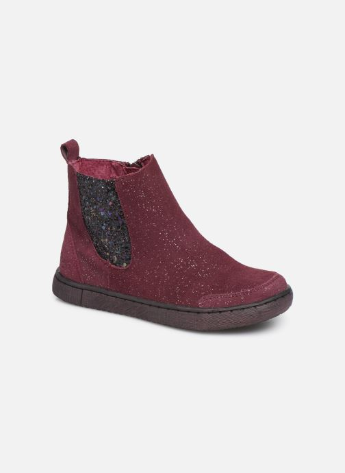 Ankle boots Mod8 Blabis Burgundy detailed view/ Pair view
