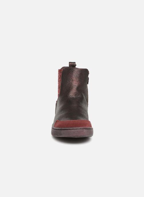 Bottines et boots Mod8 Blaba Bordeaux vue portées chaussures