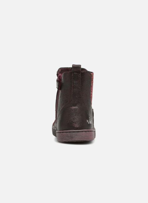Bottines et boots Mod8 Blaba Bordeaux vue droite