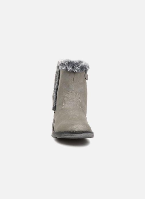 Bottes Mod8 Alina Gris vue portées chaussures