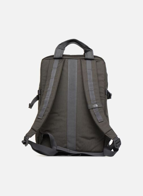 Mochilas The North Face MINI CREVASSE Gris vista de frente