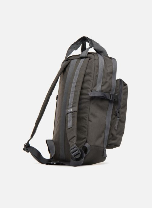 Mochilas The North Face MINI CREVASSE Gris vista lateral derecha