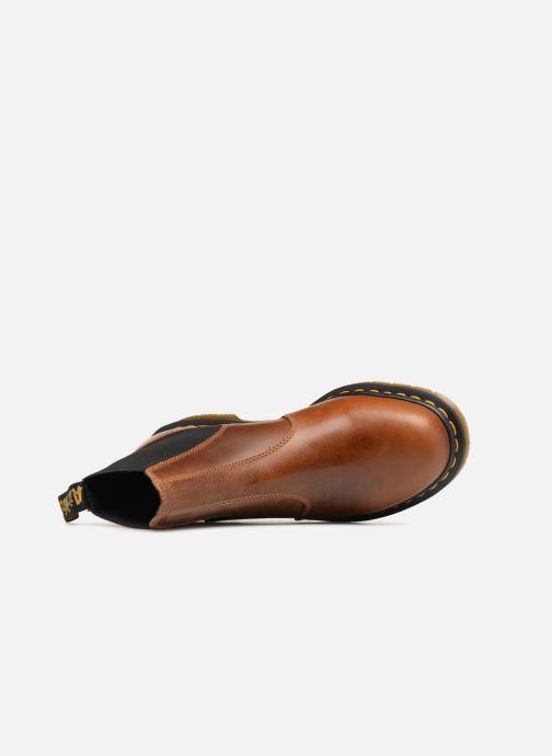 Boots en enkellaarsjes Dr. Martens Hardy DD17 Bruin links