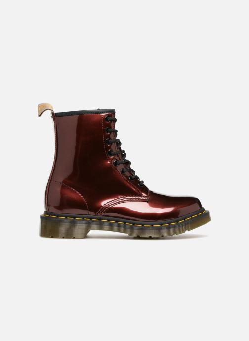 Boots Paint Vegan Oxblood Et Metallic Bottines DrMartens Chrome 1460 NvwPm8yn0O