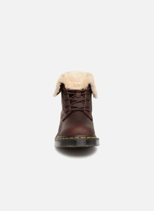 Bottines et boots Dr. Martens 1460 Kolbert Marron vue portées chaussures