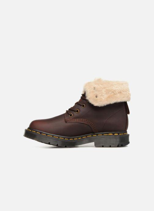 Bottines et boots Dr. Martens 1460 Kolbert Marron vue face