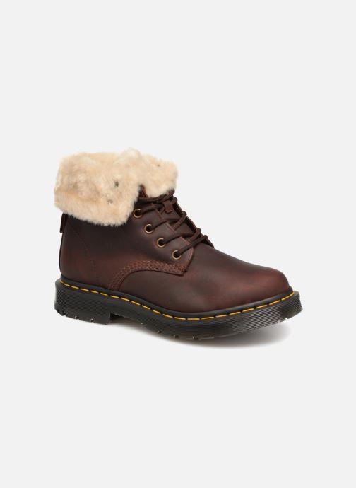 Bottines et boots Dr. Martens 1460 Kolbert Marron vue détail/paire