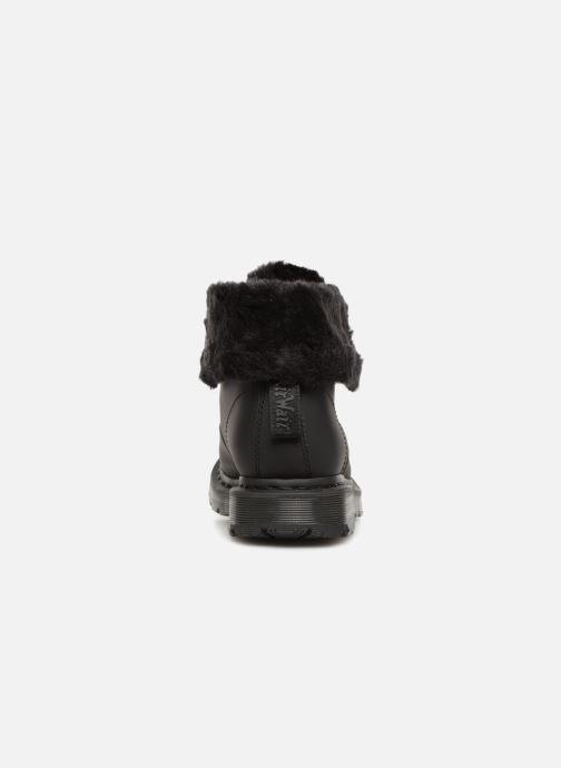 Bottines et boots Dr. Martens 1460 Kolbert Noir vue droite