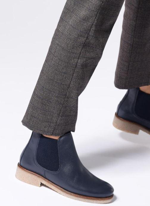 Bottines et boots Bensimon Boots Crepe Multicolore vue bas / vue portée sac