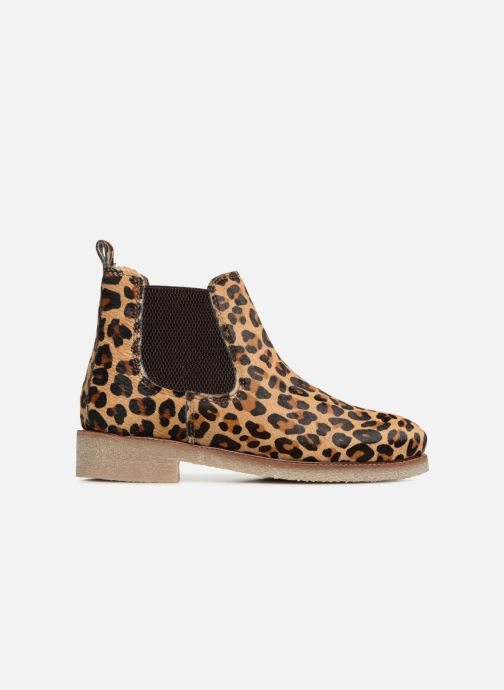 Bottines et boots Bensimon Boots Crepe Multicolore vue derrière