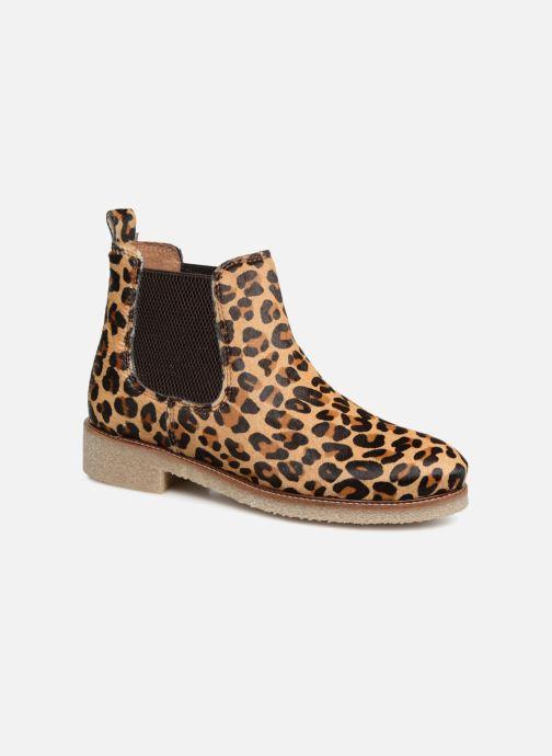Bottines et boots Bensimon Boots Crepe Multicolore vue détail/paire