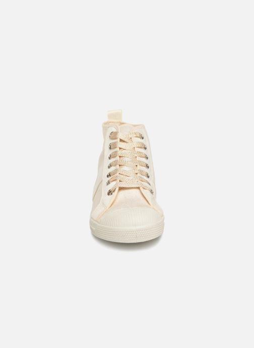 Baskets Bensimon Stella Shiny Or et bronze vue portées chaussures