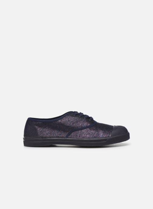 Trainers Bensimon Tennis Lacets Shiny Blue back view