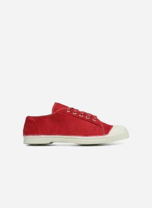 Sneaker Bensimon Tennis Romy Corduroy rot ansicht von hinten