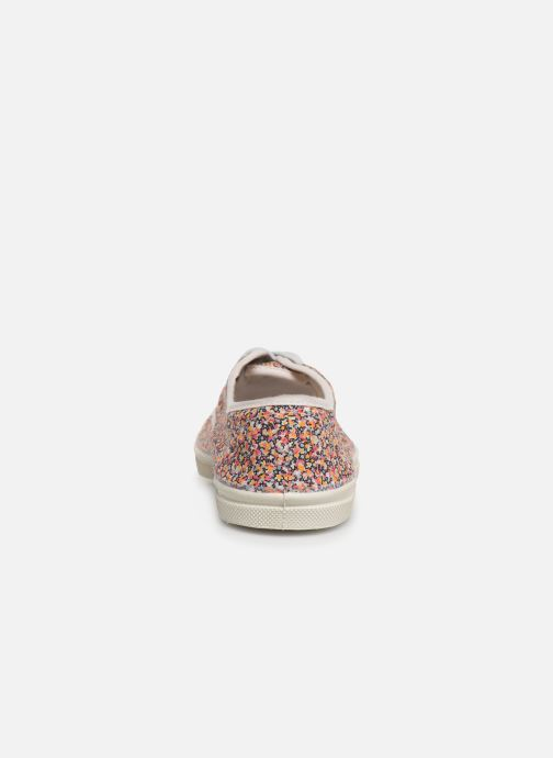 Trainers Bensimon Tennis Lacet Liberty Multicolor view from the right