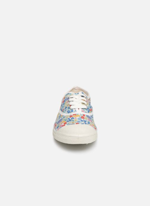 Baskets Bensimon Tennis Lacet Liberty Multicolore vue portées chaussures