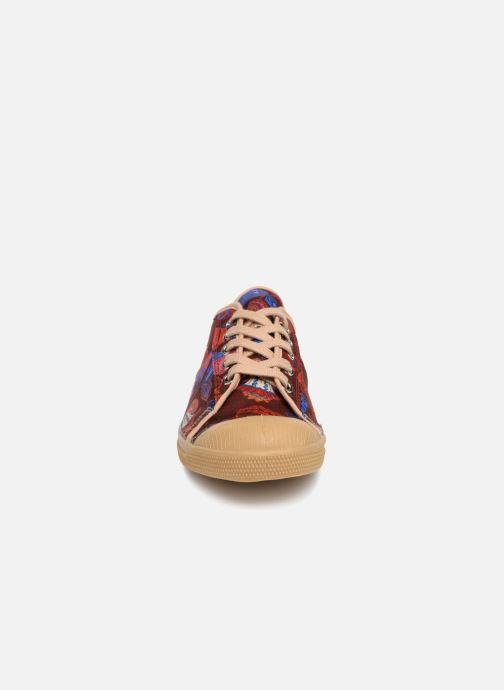 Baskets Bensimon Tennis Romy Perse Bordeaux vue portées chaussures