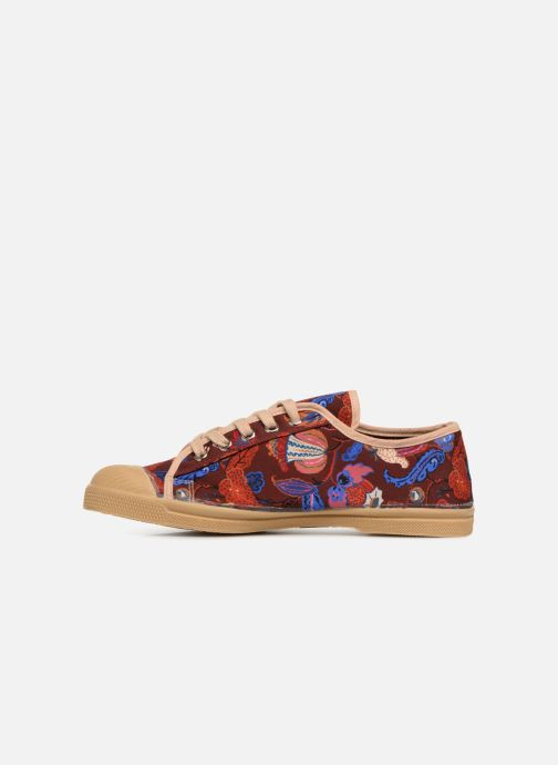 Trainers Bensimon Tennis Romy Perse Burgundy front view
