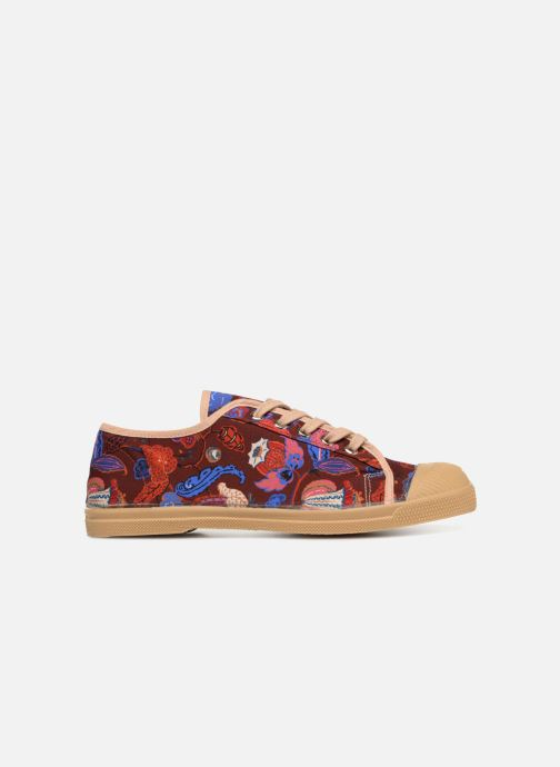 Trainers Bensimon Tennis Romy Perse Burgundy back view