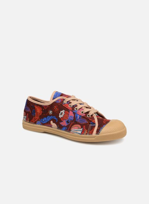 Trainers Bensimon Tennis Romy Perse Burgundy detailed view/ Pair view