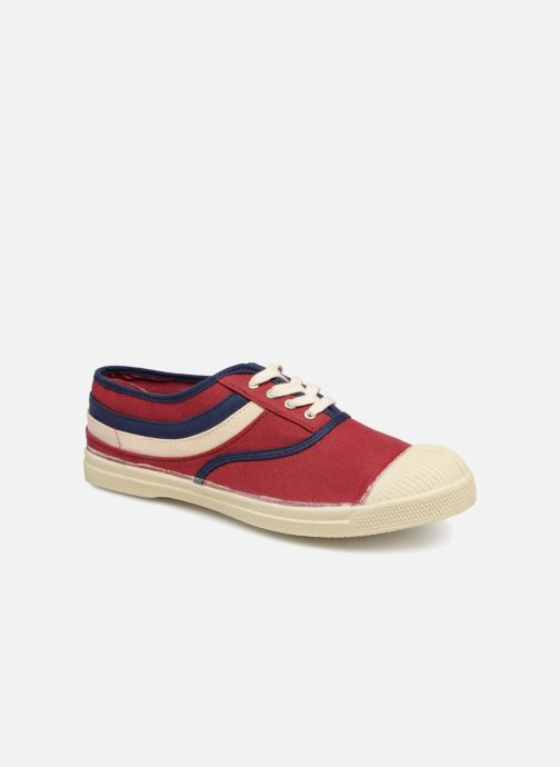 Trainers Bensimon Tennis Waves Burgundy detailed view/ Pair view