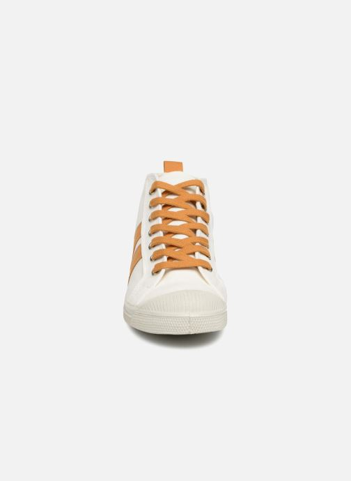 Sneaker Bensimon Stella Bicolore weiß schuhe getragen