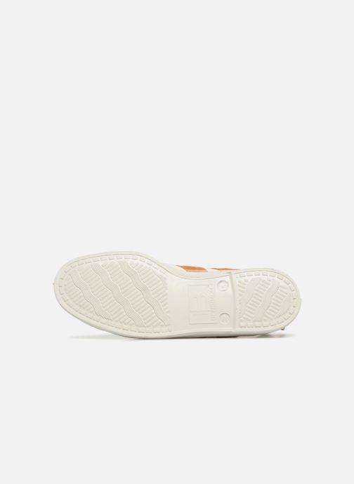 Sneaker Bensimon Stella Bicolore weiß ansicht von oben