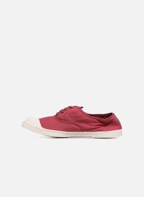Trainers Bensimon Tennis Lacet Burgundy front view