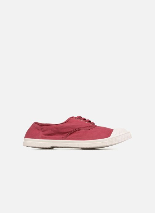 Trainers Bensimon Tennis Lacet Burgundy back view