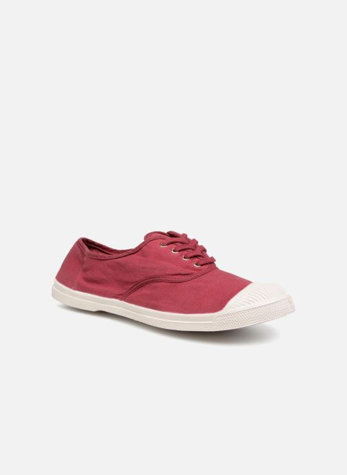 Trainers Bensimon Tennis Lacet Burgundy detailed view/ Pair view