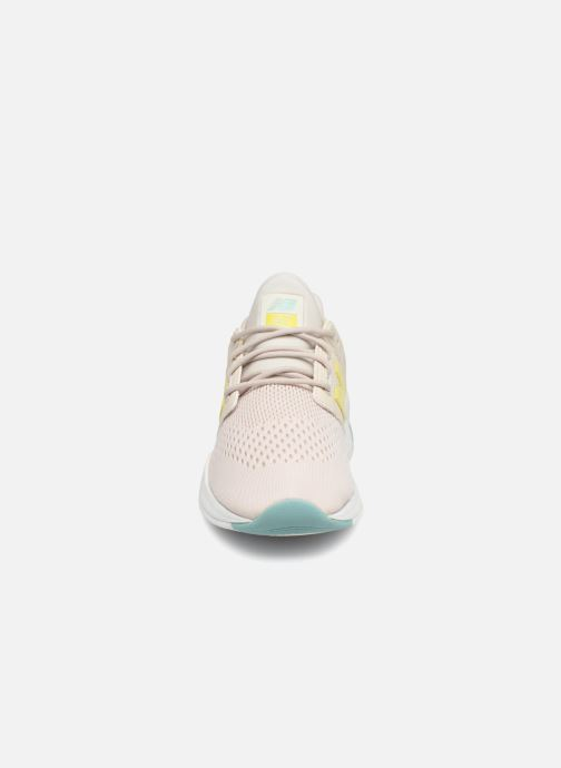 Sneaker New Balance WS247 weiß schuhe getragen
