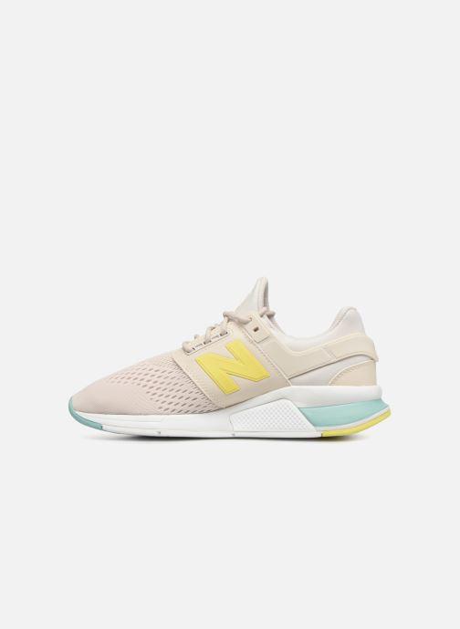 Sneaker New Balance WS247 weiß ansicht von vorne