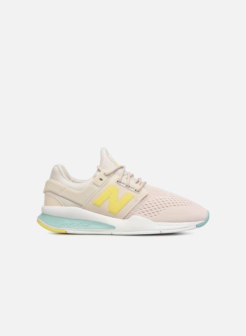 Sneaker New Balance WS247 weiß ansicht von hinten