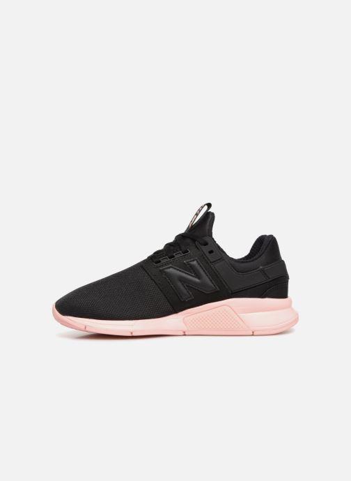 Sneakers New Balance WS247 Zwart voorkant