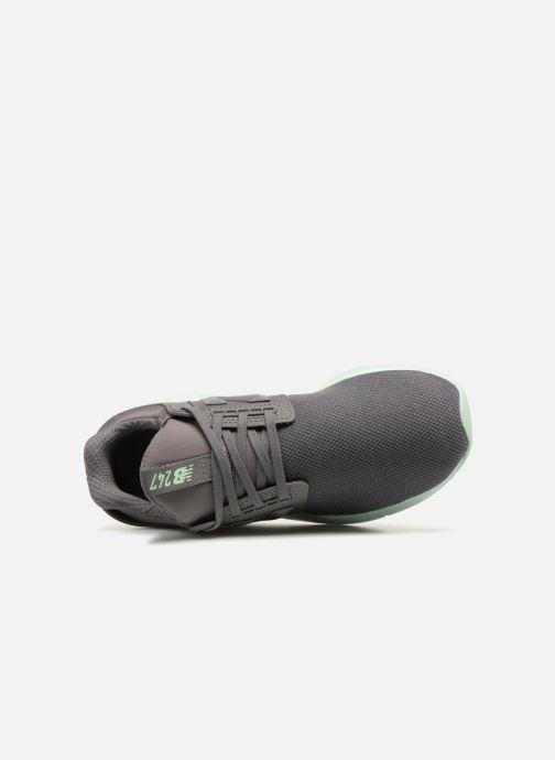 Sneaker New Balance WS247 grau ansicht von links