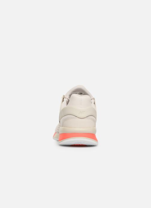 Trainers New Balance MS247 White view from the right